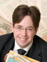 Limhamns Brassbands dirigent Andreas Wetterlund