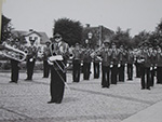 Limhamns Brassband på Limhamns Torg 1982