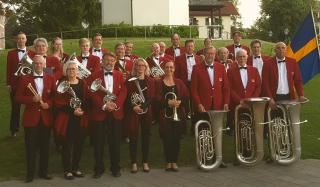 Limhamns Brassband i Österrike 2018.