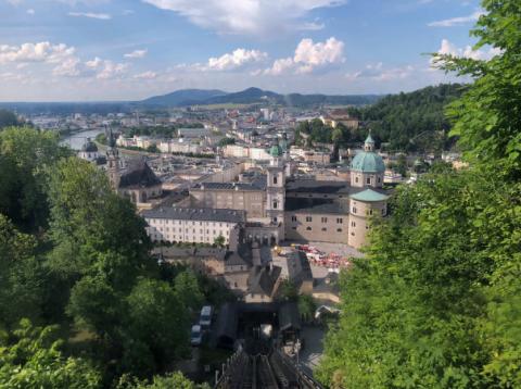 Limhamns Brassband på jubileumsresa i Österrike 2018