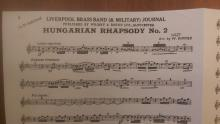 Hungarian Rhapsody No 2 - Bariton 1-noter