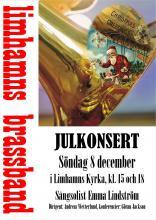 Julkonserts-affisch 2019