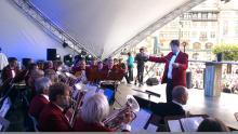 Limhamns Brassband på Världens Fest i Malmö 2012